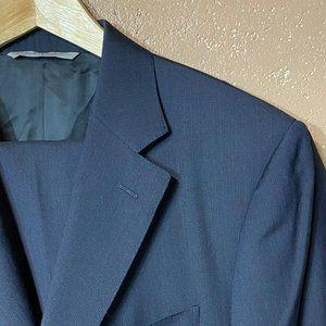 Canali 1934 Suit Navy Striped US 42 L